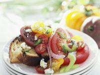 Tomato Salad on Toast recipe