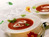 Mediterranean Bisque with Garnish recipe