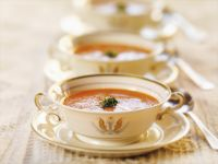 Tomato Soup with Basil recipe