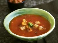 Tomato Soup with Croutons recipe