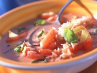 Tomato Soup with Rice recipe
