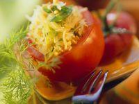 Tomato Stuffed with Buckwheat recipe