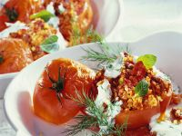 Tomatoes Stuffed with Lamb