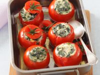Tomatoes Stuffed with Ricotta Cheese recipe