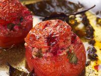 Tomatoes Stuffed with Tofu recipe