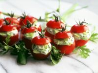 Tomatoes with Cream Cheese Filling recipe
