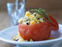 Tomatoes with Potato Stuffing recipe