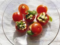 Tomatoes with Zucchini Stuffing recipe
