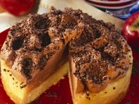 Torte with Apple Filling and Truffle Cream recipe