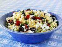 Pepper, Courgette and Feta Pasta Salad recipe