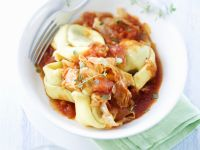 Tortelloni with Cabbage and Thyme recipe