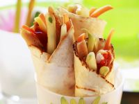 Tortilla Chicken Wraps recipe