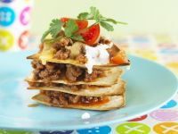 Tortillas with Ground Beef recipe