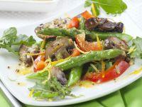 Tossed Asparagus and Mushroom Salad recipe