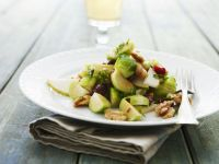 Tossed Brussels Sprout Salad recipe