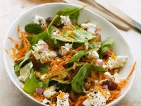 Tossed Spinach Salad with Zesty Lemon Dressing recipe