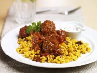 Traditional African Lamb and Couscous recipe