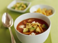 Traditional Mexican Tortilla Soup recipe