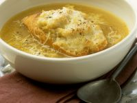 Traditional Onion Soup with Crouton recipe