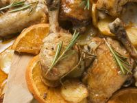 Tray Bake Chicken with Potatoes recipe