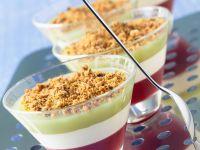 Tri-layer Set Puddings recipe