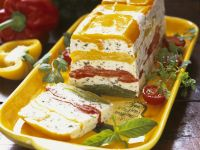 Tricolour Soft Cheese Loaf recipe