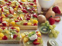 Trifle Fruit Pudding Cake recipe