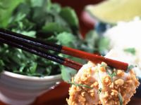 Tropical Chicken with Dip recipe