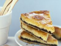 Tropical Fruit and Chocolate Pie Slices recipe