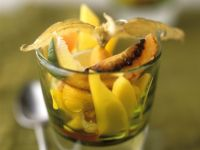 Tropical Fruit Salad with Vodka