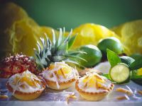 Tropical Lime Tarts recipe