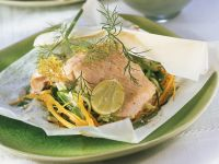 Trout and Vegetable Parcels recipe