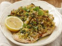 Trout Fillets with Pistachio Crust recipe