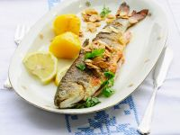 Trout Meunière with Almond Flakes recipe