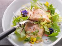 Trout with Herb Salad recipe