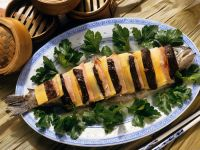 Trout with Mushrooms recipe