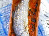Trout with Tomato Sauce recipe