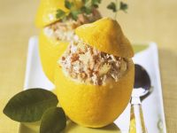 Citrus Fruit with Fish Filling recipe