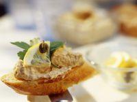 Tuna and Lemon Crostini recipe