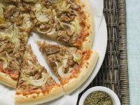 Tuna and Onion Pizza recipe