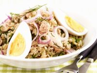 Tuna and Red Onion Rice Salad recipe
