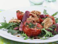 Tuna and Tomato Salad with Arugula recipe
