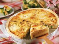 Tuna and Vegetable Quiche