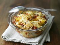 Penne Gratin with Tuna recipe