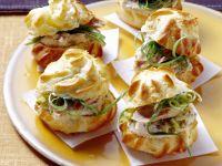 Tuna Profiteroles recipe