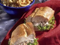 Tuna Salad Sandwich on Baguette recipe