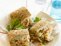 Tuna Sandwich with Corn recipe