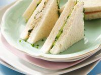 Tuna Sandwiches with Cucumber recipe