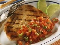 Tuna Steak with Tomato Salsa recipe
