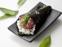 Tuna Sushi Cones recipe